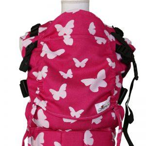 Ergonomický nosič na nosenie detí Rastúca Lenka Pink motýle
