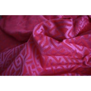 Yaro Fuchsia Glossy Pink šatka na nosenie detí