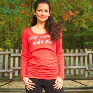 Kojo tričko na dojčenie Ruky voľné srdce plné